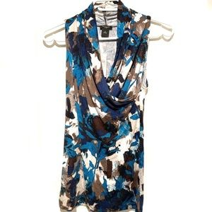 Brand New Ann Taylor Wrap Sleeveless Top with tags